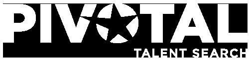 Pivotal Talent Search Logo - White
