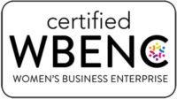 Certified WBENC Women's Business Enterprise emblem